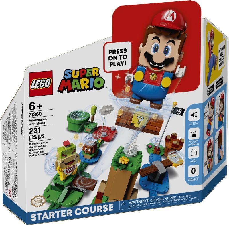 Mario Kalandjai Kezdő Készlet