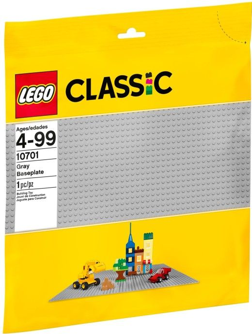 LEGO Szürke alaplap 48x48